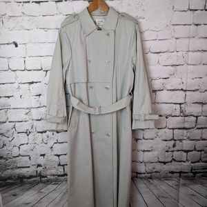 Vintage London Fog Khaki Long Trench Coat